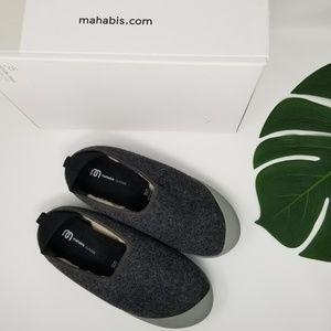 Mahabis Classic Grey Slippers 7.5